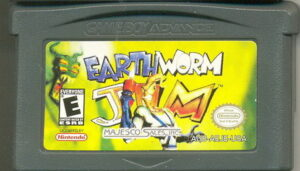 Earthworm Jim GBA Cartridge