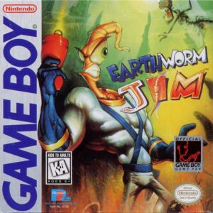 Earthworm Jim Game Boy Box