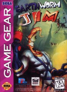 Earthworm Jim Game Gear Box