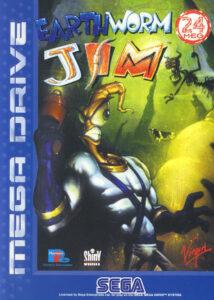 Earthworm Jim Mega Drive Box