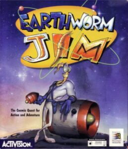 Earthworm Jim PC Box
