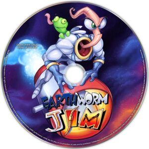 Earthworm Jim PC Disc