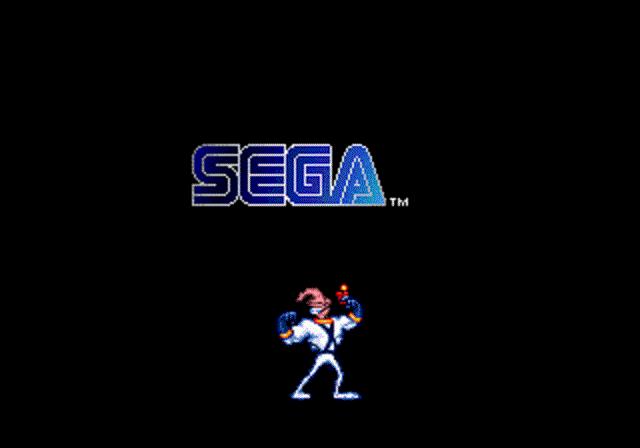 Earthworm Jim - Sega Logo