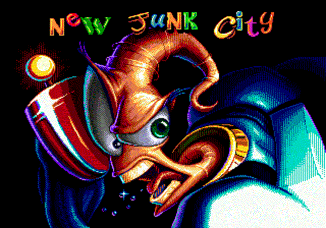 Earthworm Jim - Start of Level