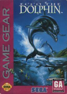 Ecco The Dolphin Game Gear Box