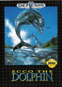 Ecco The Dolphin Genesis Box