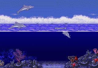 Ecco The Dolphin Intro Scene