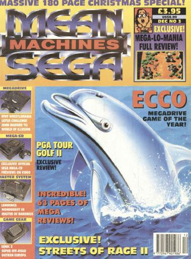 Ecco The Dolphin Magazine Cover