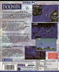 Ecco The Dolphin PC Box Back