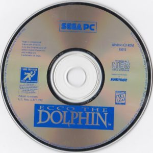 Ecco The Dolphin PC Disc