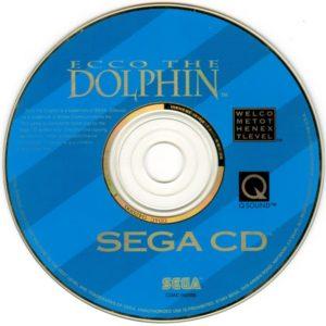Ecco The Dolphin Sega CD Disc