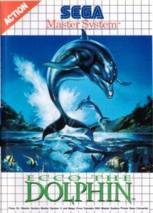 Ecco The Dolphin Sega Master System Box