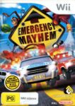 Emergency Mayhem Wii Box