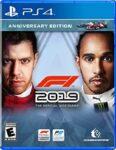 F1 2019 PS4 Box