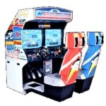 F1 Exhaust Note Arcade Cabinet