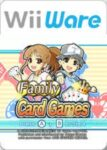 Family Card Games Wii Box
