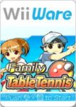 Family Table Tennis Wii Box