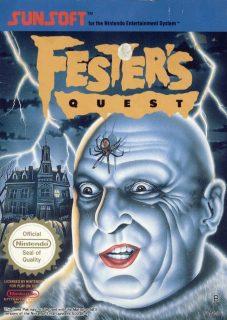 Fester's Quest European NES Box