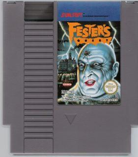 Fester's Quest European NES Cartridge