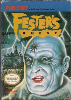 Fester's Quest NES Box