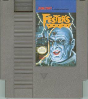 Fester's Quest NES Cartridge