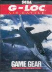 G-LOC Air Battle Game Gear Box
