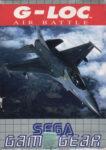 G-LOC - Air Battle Game Gear European Box