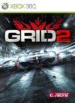 GRID 2 Xbox 360 Box