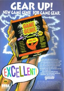 Game Gear Game Genie Ad