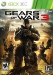 Gears of War 3 Xbox 360 Box