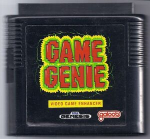 Genesis Game Genie