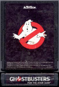 Ghostbusters Atari 2600 Cartridge