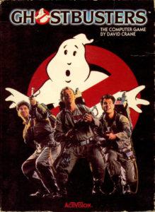 Ghostbusters Commodore 64 Box