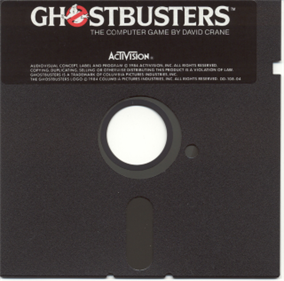Ghostbusters Commodore 64 Floppy Disk