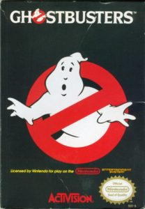 Ghostbusters NES Box