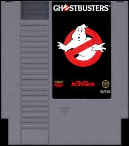 Ghostbusters NES Cartridge