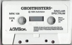Ghostbusters ZX Spectrum Cassette Tape