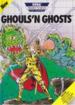 Ghouls 'n Ghosts Sega Master System Box