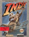 Indiana Jones and the Fate of Atlantis - The Action Game C64 Box