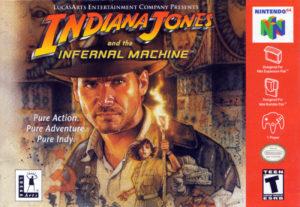 Indiana Jones and the Infernal Machine Box