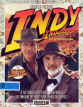 Indiana Jones and the Last Crusade - The Graphic Adventure DOS Box