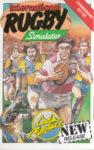 International Rugby Simulator C64 Box