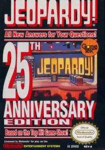 Jeopardy 25th Anniversary Edition Box