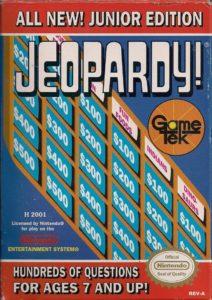 Jeopardy Junior Edition Box