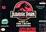 Jurassic Park Part 2 - The Chaos Continues SNES Box