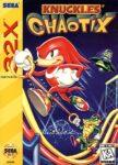 Knuckles' Chaotix 32X Box