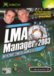 LMA Manager 2003 Xbox Box