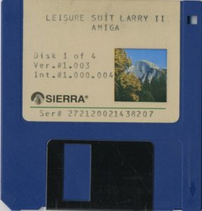 Leisure Suit Larry Goes Looking for Love Amiga 3.5 Floppy 1 of 4