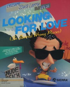 Leisure Suit Larry Goes Looking for Love Amiga Box