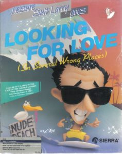 Leisure Suit Larry Goes Looking for Love Atari ST Box